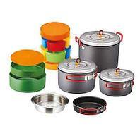 Набор посуды KOVEA (14 предметов) Мод. SYSTEM COOKWARE (7-8 персон) R 43094