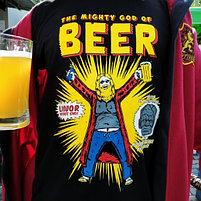 Футболка Тор - Бог пива, фото 2