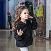 Толстовка черная, детская, фото 2