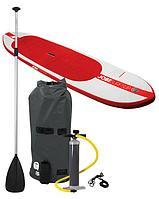 Надувной серф JOBE Мод. SURF SUP (комплект: весло, насос, трос, чехол, рем. комплект)(320x76x10см.) R 75527