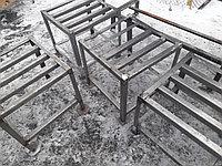 Подтоварник 400х400х400, нержавеющая сталь, фото 1