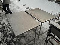 Стол 1400х650х860 Столешня нерж 2.5мм и другие, фото 1