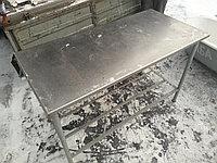 Стол 1500х850х850 нерж, столешня толщиной 3мм, фото 1