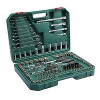 Набор инструментов в кейсе TUNDRA, автомобильный, CrV, 1/2', 1/4', 3/8', 120 предметов