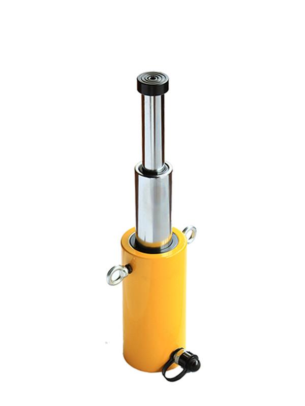 Домкрат гидравлический телескопический TOR HHYG-15300D (ДТ15Г300)