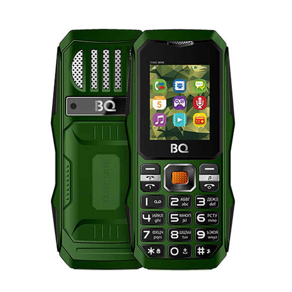 Мобильный телефон BQ-1842 Tank Mini (Green Dark)