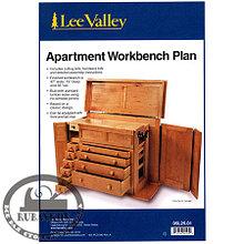 План комода Lee Valley Apartment Workbench Plan