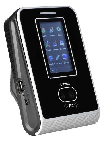 VF780 - Мультибиометрический (с распознавание лица и отпечатков пальцев) антивандальный терминал контроля доступа с функциями учёта времени, посещаемо
