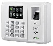 G1 - Терминал учёта рабочего времени с доступом по отпечатку пальца и RFID-картам (опция).