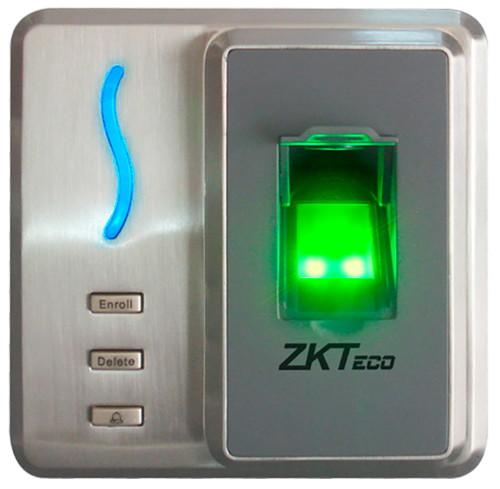 SF101- ИК-терминал доступа и учета рабочего времени со сканером отпечатков пальцев и считывателем карт. Ванддалозащищённый.