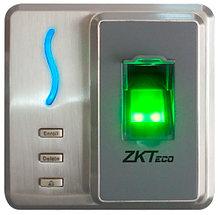 SF101- ИК-терминал доступа и учета рабочего времени со сканером отпечатков пальцев и считывателем карт.