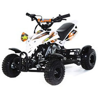Мини-квадроцикл MOTAX ATV H4 mini-50 cc, белый-оранжевый