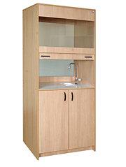 Шкаф вытяжной стационарный, без системы вентиляции и соединительных рукавов (ШВСсп)