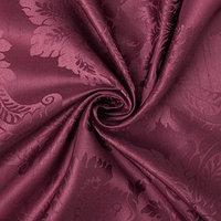 Ткань портьерная 'Дамаск' CRABAPPLE, ш.280, дл 10м, пл. 160 г/м2,100  п/э