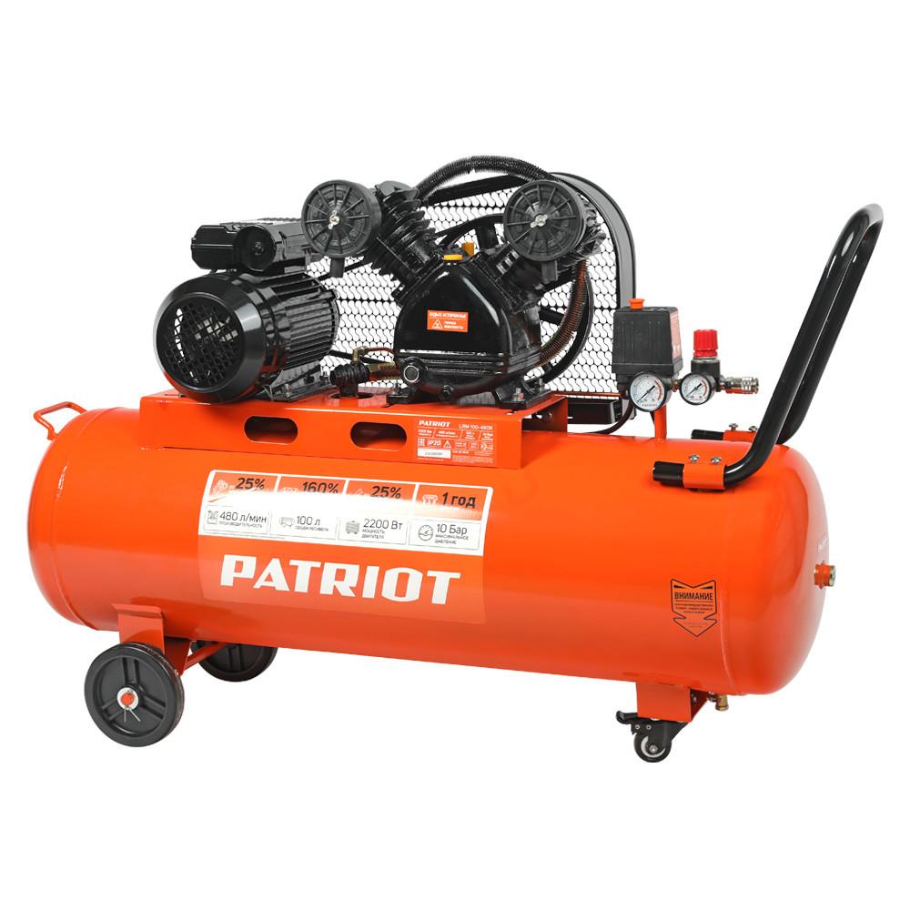 Компрессор поршневой PATRIOT LRM 100-480R