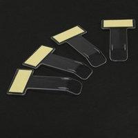 Зажим под лобовое стекло, 7.5х4 см, прозрачный (комплект из 4 шт.)