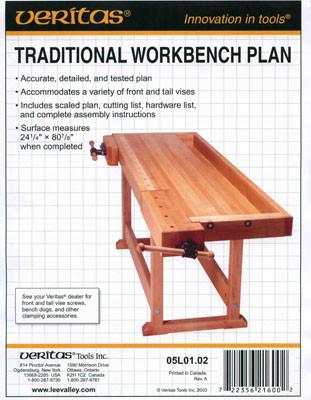 План верстака *Traditional workbench*