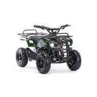 Детский электро квадроцикл MOTAX ATV Х-16 1000W, зеленый камуфляж