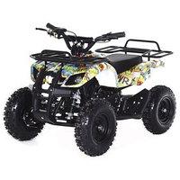 Квадроцикл детский бензиновый MOTAX ATV Х-16 Big Wheel с механическим стартером, бомбер