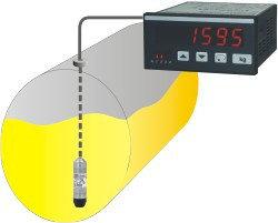 Дисплей для ёмкостей TA 9648  Martens-Elektronik