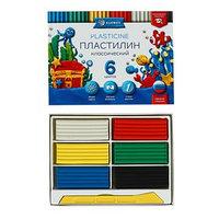 Пластилин GLOBUS 'Классический', 6 цветов, 120 г, рекомендован педагогами