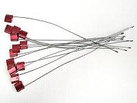 """Пломба тросовая """"Малтилок кейбл сил"""" 2.5, красный 30см"""
