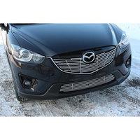 Декоративные элементы воздухозаборника d10 Mazda CX-5 2012-2016, хром, MCX5.97.2302