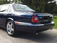 Выхлопная система Quicksilver на Jaguar XJR