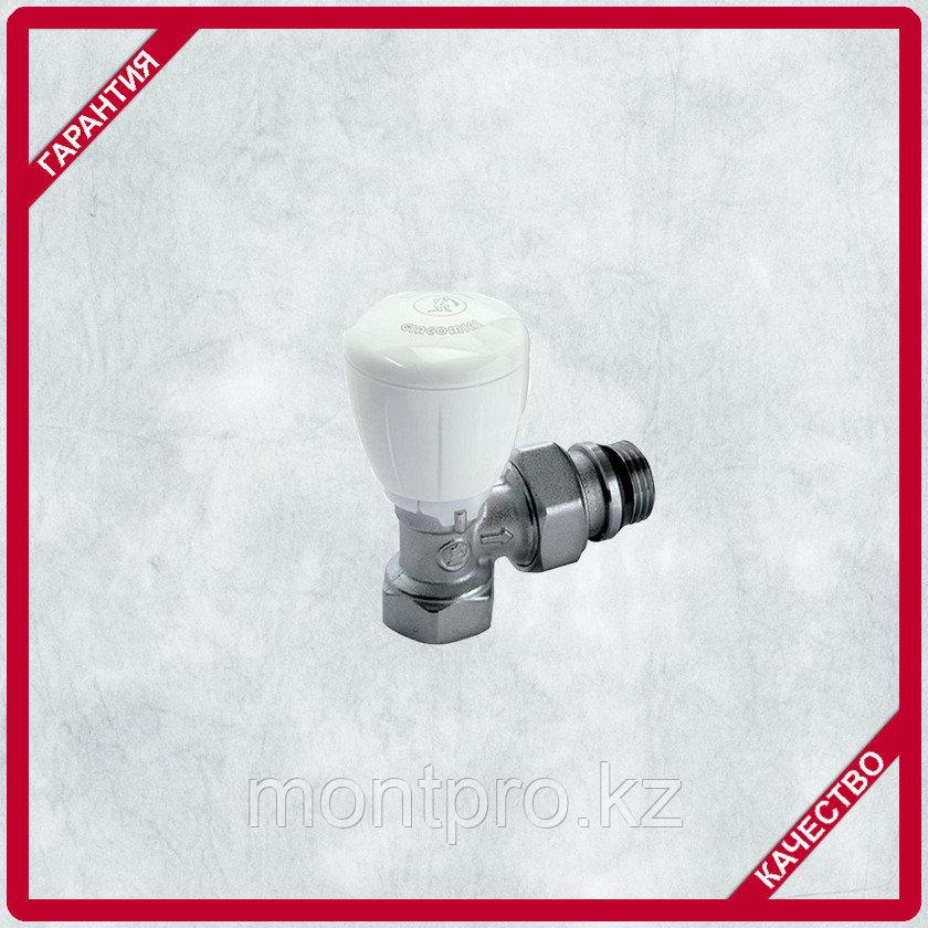 Клапан лат.Радиаторный термостатический прямой
