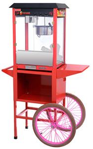 Аппарат для поп-корна AIRHOT POP-6WС с тележкой