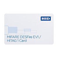 Бесконтактная карта с чипом DESFIRE и Prox 1451 Desfire Card
