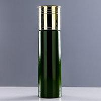Термос 'Патрон', 500 мл, сохраняет тепло 12 ч, зелёный, 6.5х25 см