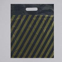 Пакет 'Полоса, рейтер', полиэтиленовый с вырубной ручкой, 40 х 50 см, 50 мкм (комплект из 50 шт.)