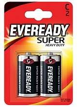 Элемент питания R14-C Eveready SHD 2 штуки в блистере