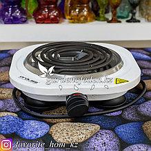 """Электрическая плита 1-но конфорочная """"Proliss"""". Материал: Металл/Пластик. Цвет: Белый. Мощность: 1500Вт."""