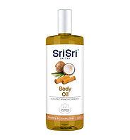 Массажное масло для тела с кокосом,и чанданом и ракта чанданом