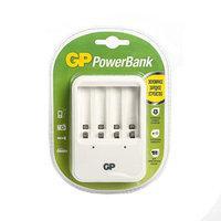 Зарядное устройство GP PB420, для аккумуляторов 4хAA/AAA, белый