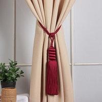 Кисть для штор 'Наргиз', 70 ± 1 см, цвет бордовый