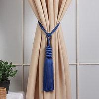 Кисть для штор 'Наргиз', 70 ± 1 см, цвет синий