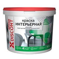 Краска водно-дисперсионная  Ореол для внутренних  работ 6,5 кг (комплект из 2 шт.)