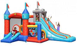 Happy Hop Детский надувной Батут Цитадель 3 в 1