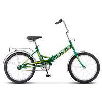 Велосипед 20' Stels Pilot-410, Z011, цвет зелёный/жёлтый, размер 13,5'