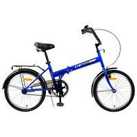 Велосипед 20' Novatrack TG30, цвет синий