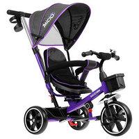 Велосипед трехколесный Micio Veloce, колеса EVA 10'/8', цвет фиолетовый