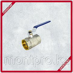 Кран шаровой латунь,  ручка-рычаг вн/вн(1005) STA 50