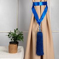Кисть для штор 'Камила', 60 ± 1 см, цвет синий