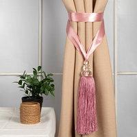 Кисть для штор 'Камила', 60 ± 1 см, цвет розовый