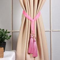 Кисть для штор 'Лейла', 44 ± 1 см, цвет розовый