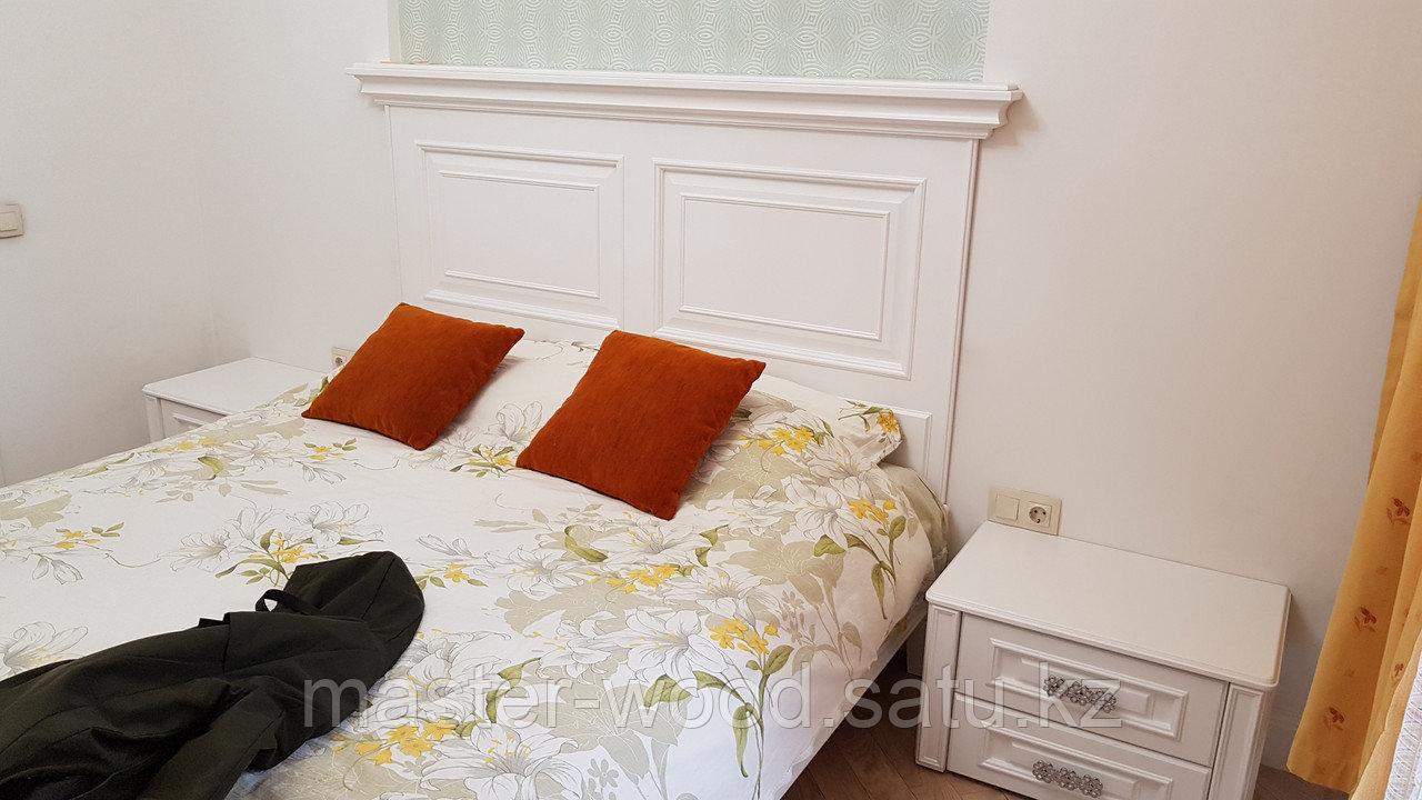 Кровати на заказ из натурального дерева - фото 7