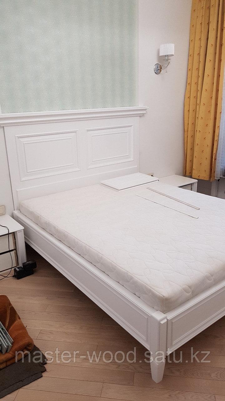 Кровати на заказ из натурального дерева - фото 6